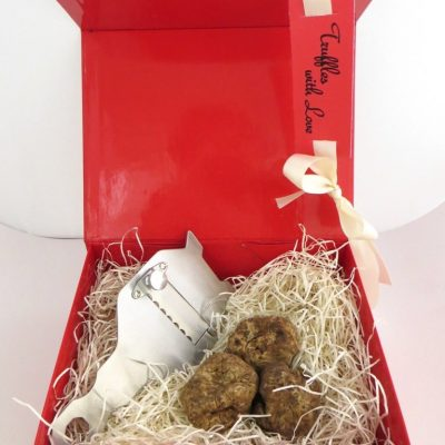 Winter White Truffle Gift Box